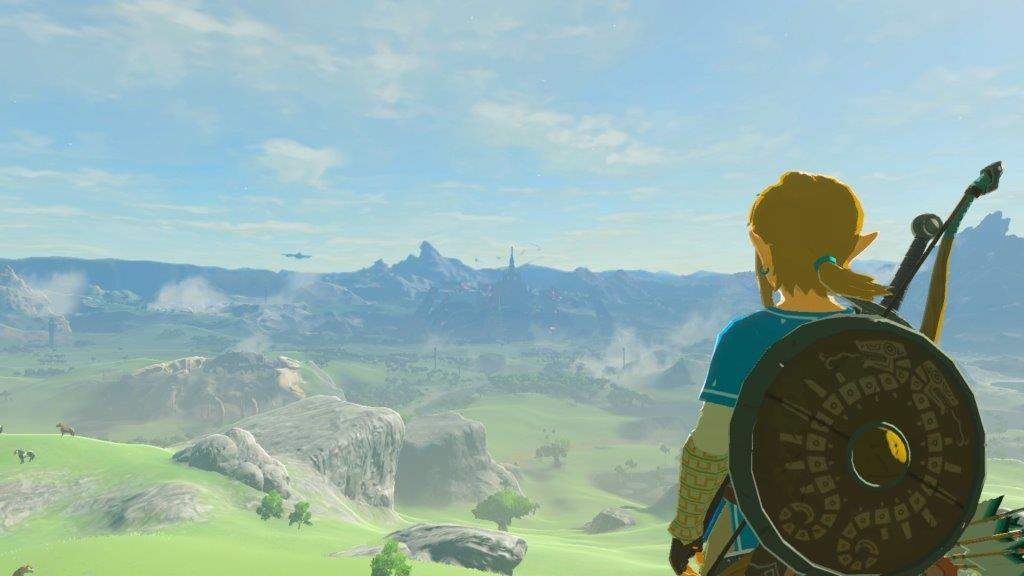 "The latest ""Legends of Zelda"" game is called ""Breath of the Wild"""