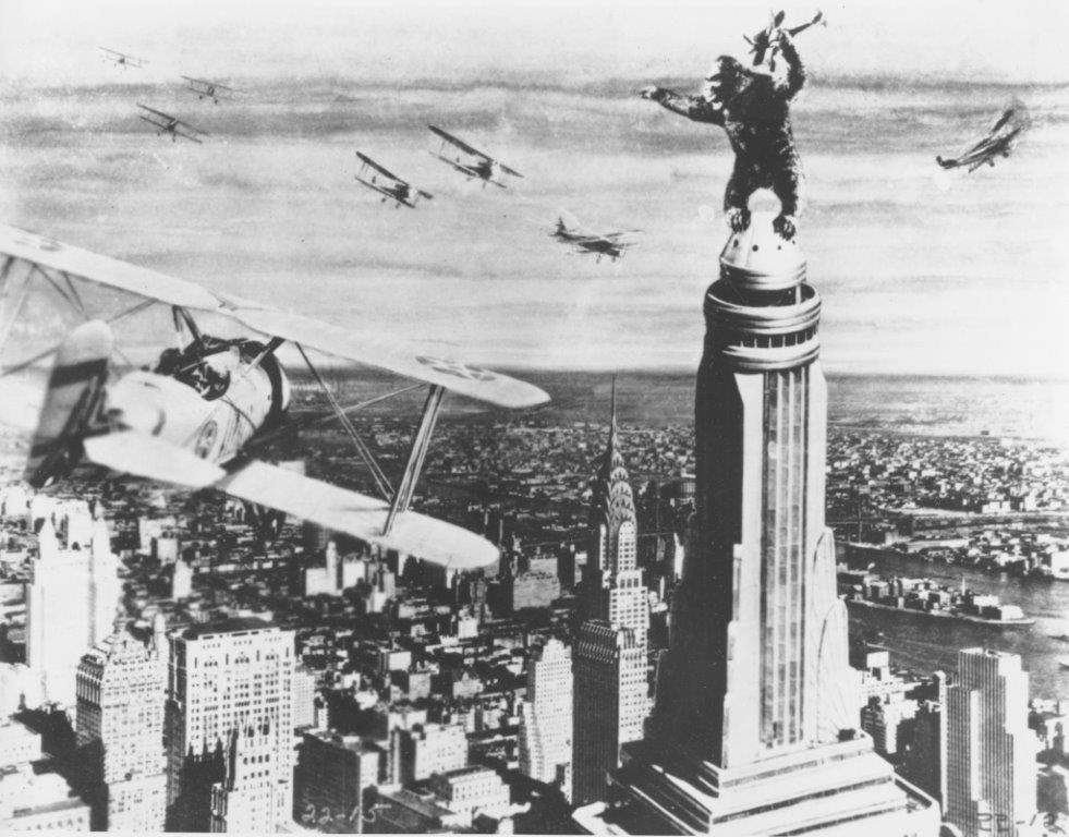 "The original ""King Kong"" thrilled audiences in 1933."
