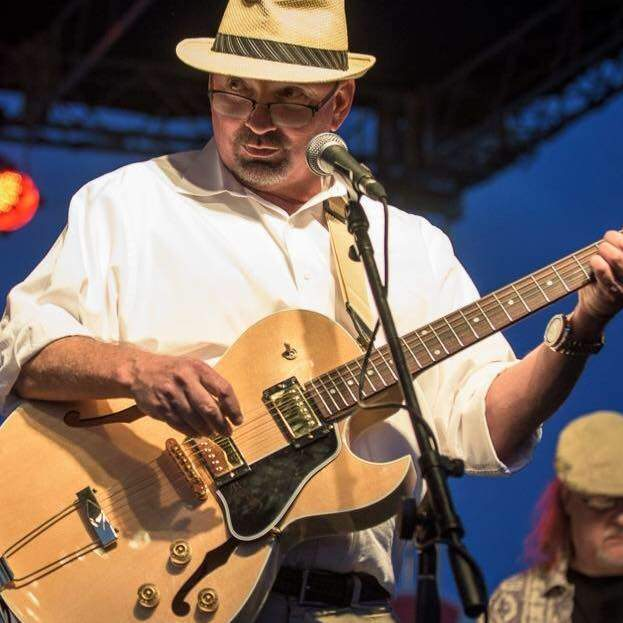 """Lew Jetton and 61 South bring a critically acclaimed """"Southern-fried"""" Chicago blues sound to the stage at 8:30 p.m. Friday night."""