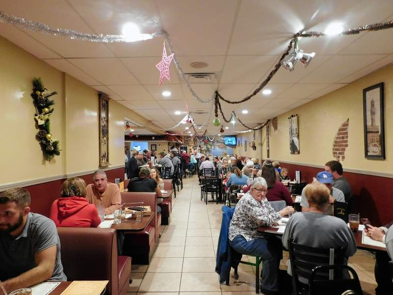Michael's Ristorante reopened to big crowds this week.