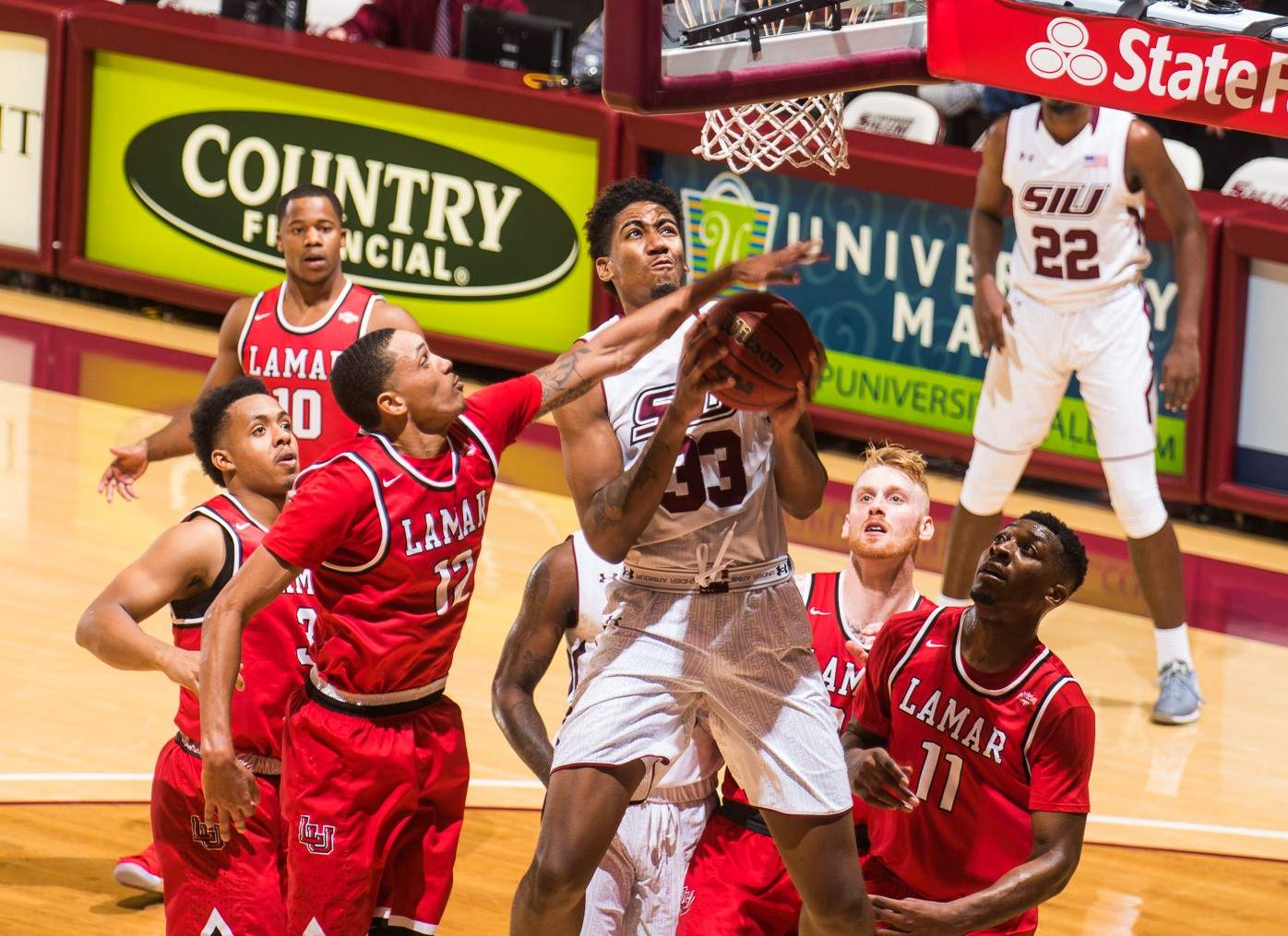 SIU forward Kavion Pippen has been a bright spot for Southern early in the season. He says he's not worried about living up to the family name made famous by NBA legend Scottie Pippen.