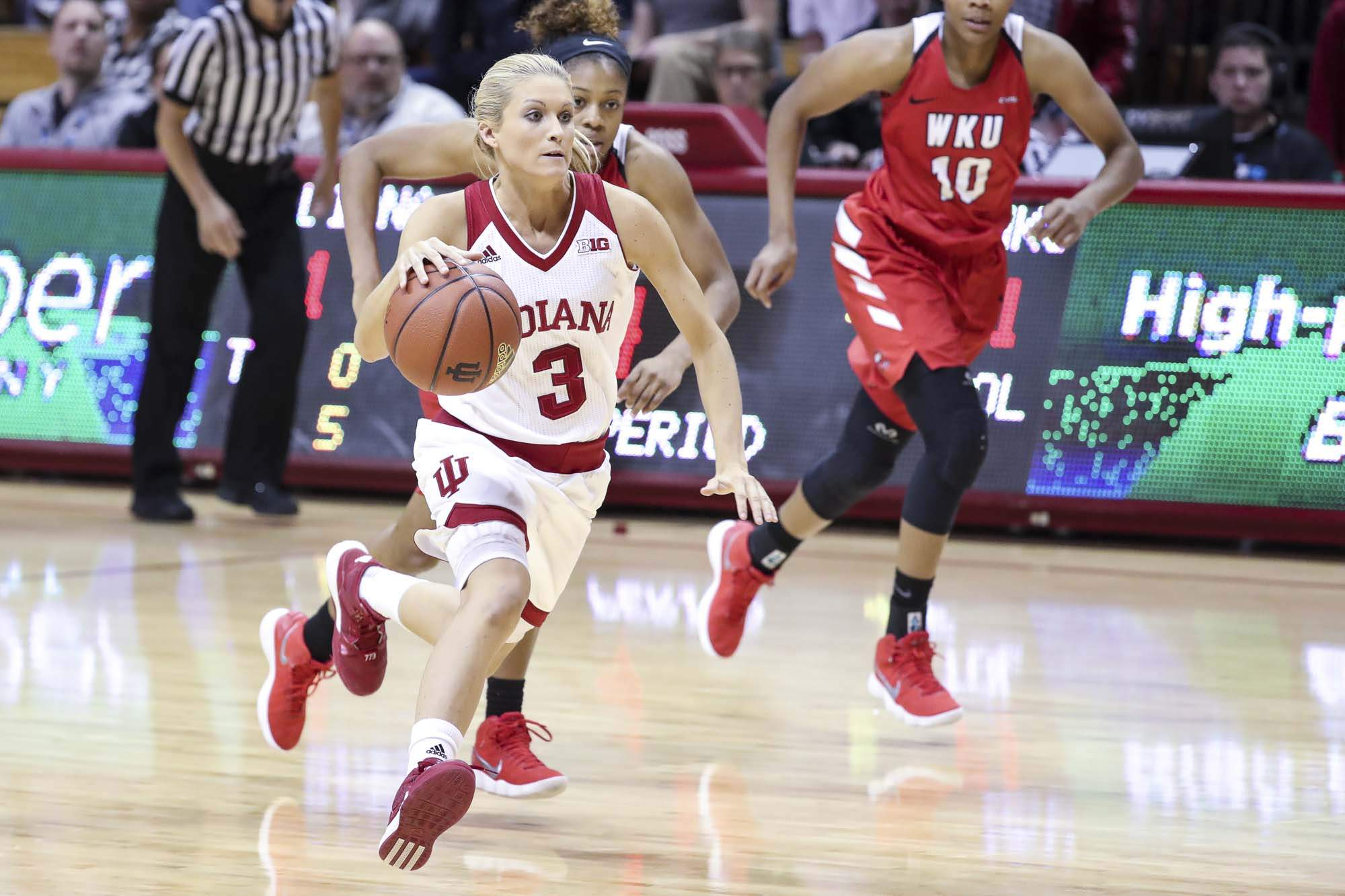 Mt. Carmel native Tyra Buss scored 27 points Wednesday night, breaking the IU All-Time Scoring Record. Buss now has 1,931 points