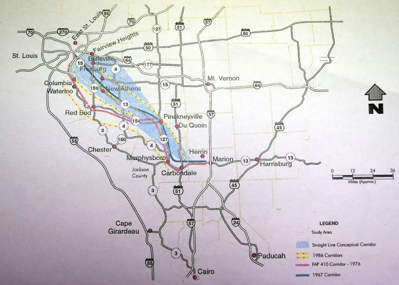 Four-lane highway project named 'Southwest Illinois Connector'