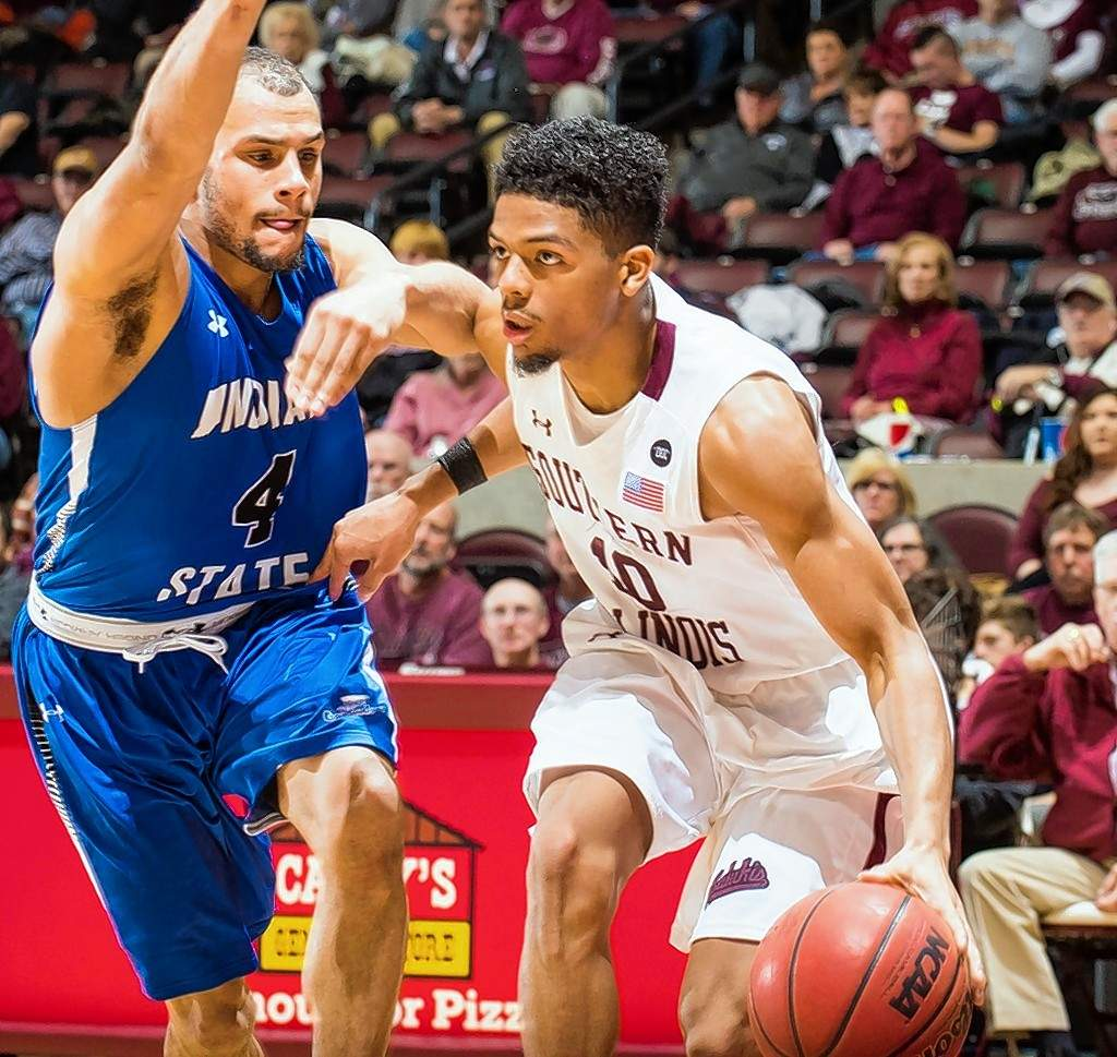 Aaron Cook scored a career-high 25 points Wednesday against Indiana State.