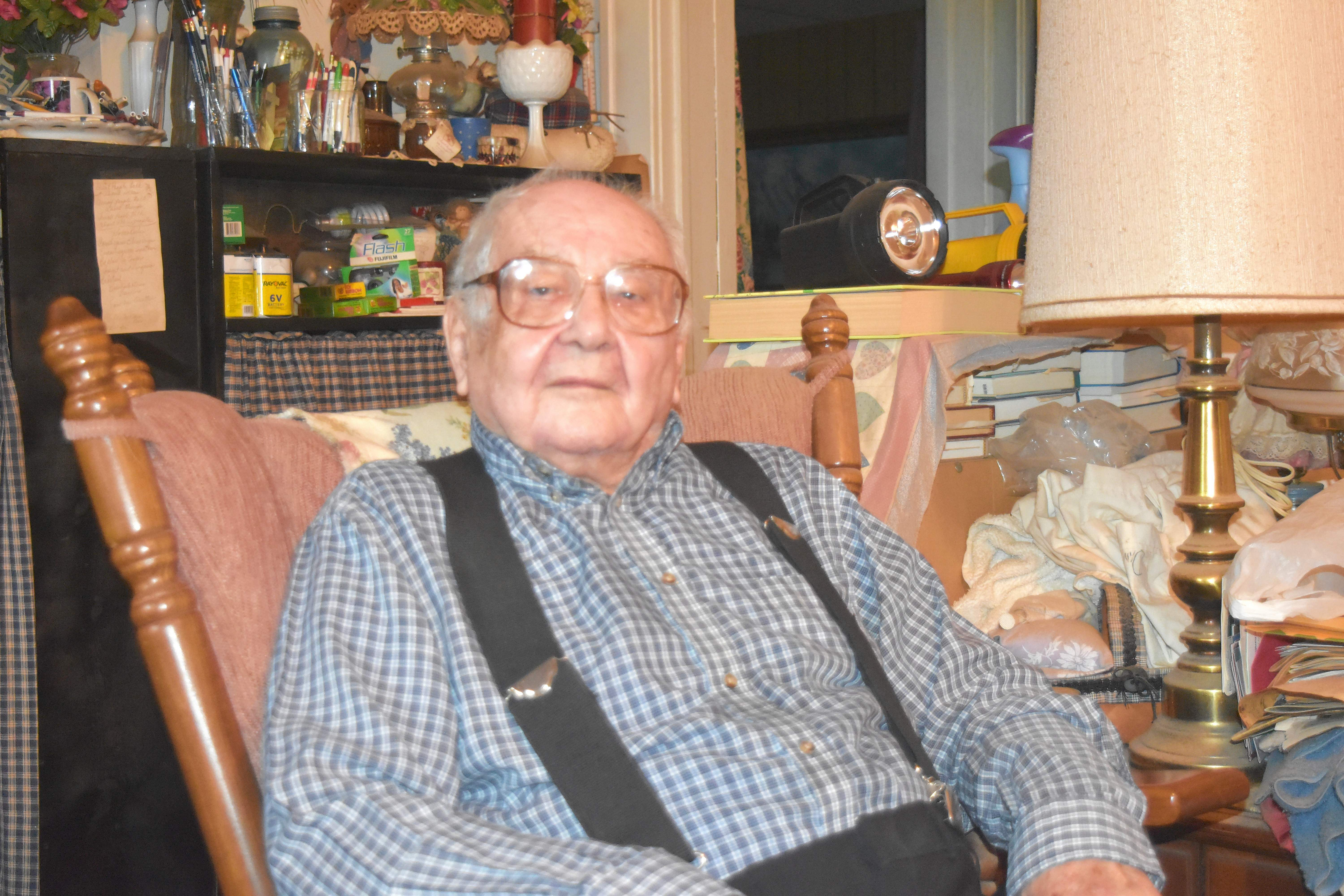 Steve Boros turns 100 this week. Although he has lived in de Soto for decades, he is originally from Dowell and will be honored as grand parade marshal at Friday's village centennial celebration. Boros is a World War II veteran, and worked in both Kathleen mines in Dowell, was a barber in Carbondale and custodian at SIU.