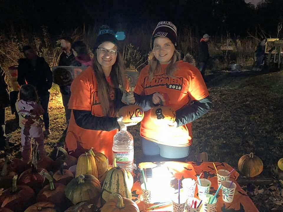 The Pumpkin Glow at Green Earth's Oakland Nature Preserve took place Friday evening.