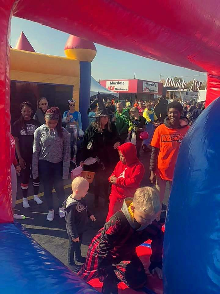 Trick-or-treating and bounce houses anchored Safe Halloween at Murdale, which has become the city's longest-standing Halloween tradition.