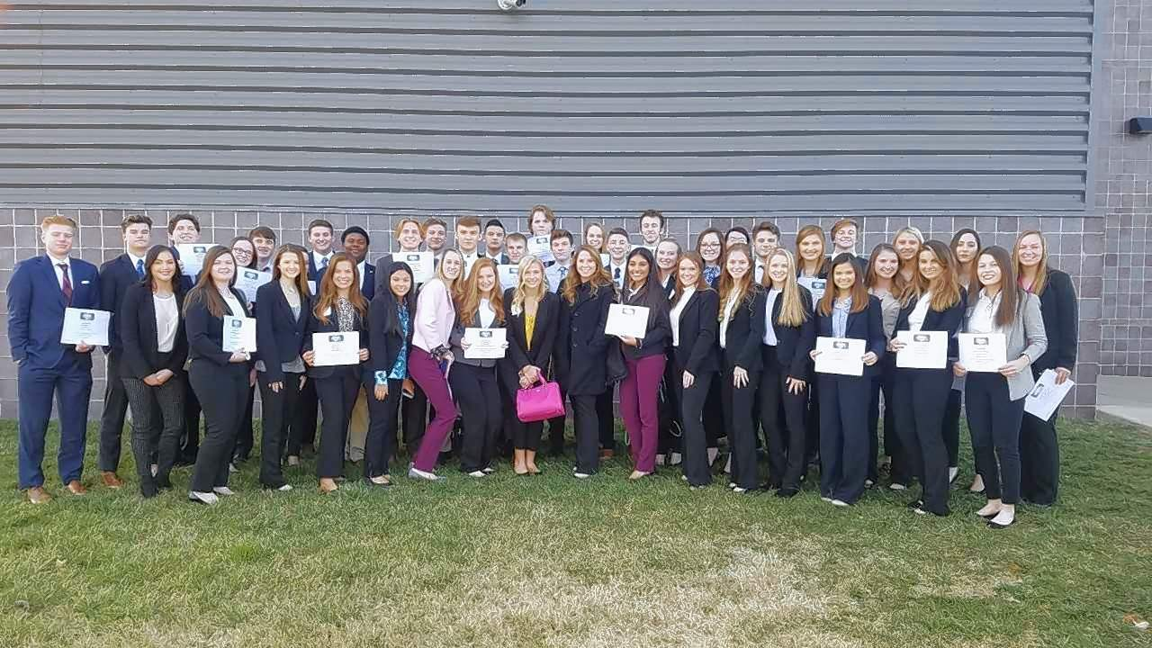 The Marion High School FBLA competed at the Southern Area Conference hosted by SIUC last week. Several MHS students earned awards.