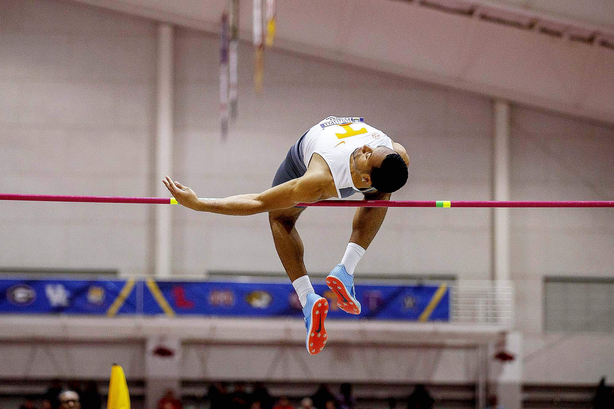 Marion native Daryl Sullivan took second place over the weekend at the 2019 NCAA Indoor National Championships with a second place finish in the high jump.