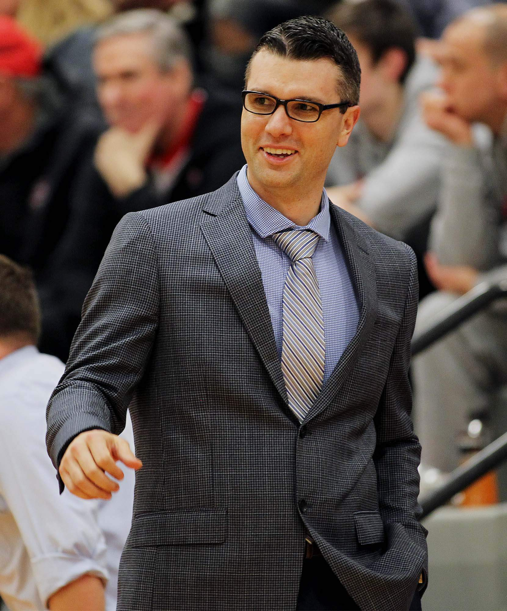 Harrisburg native and John A. Logan College men's basketball coach Kyle Smithpeters picked up his third straight Great River Athletic Conference Coach Of The Year honors earlier this week. The seventh-year head coach of the Vols has won the award six times.