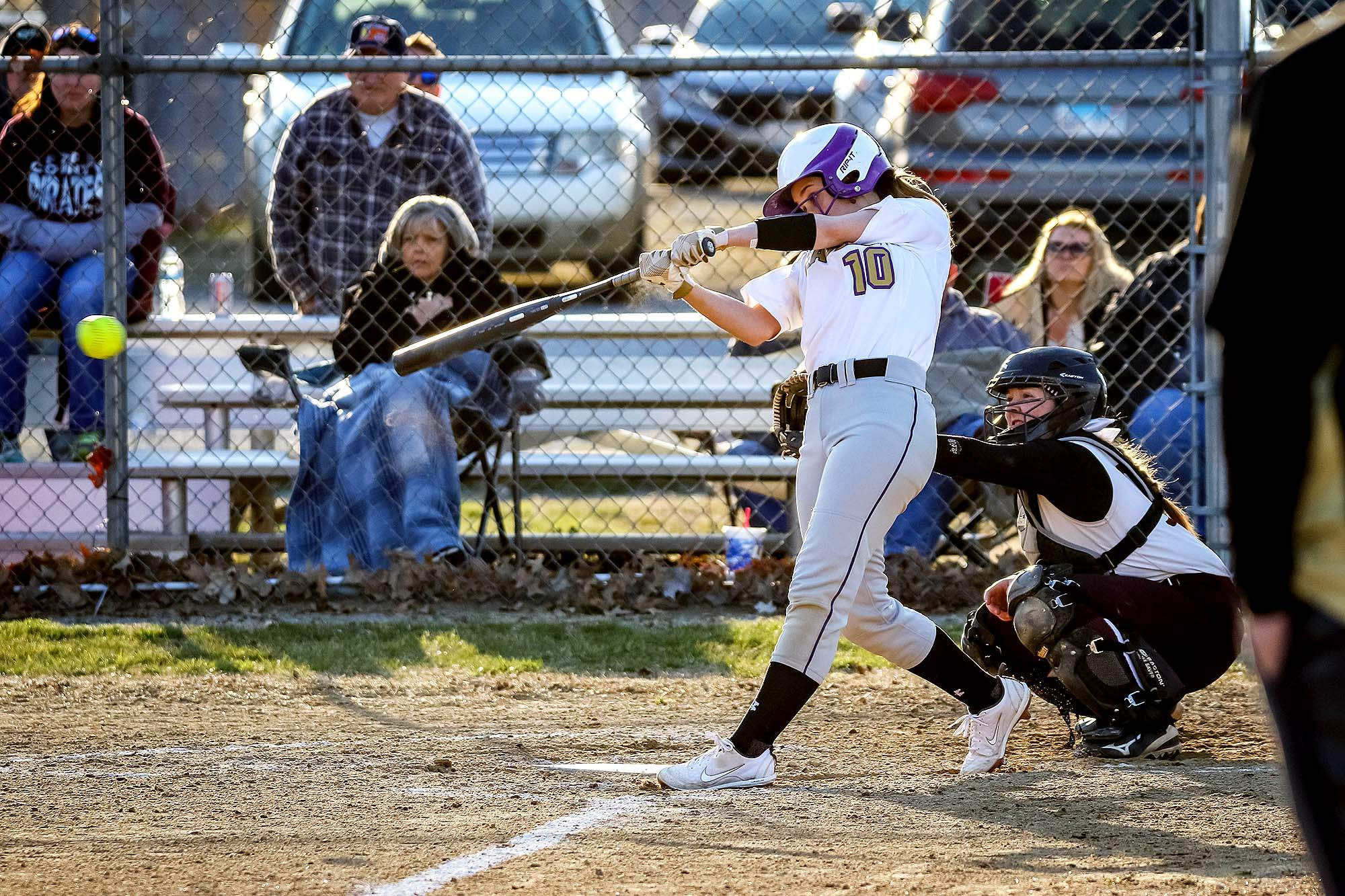 Lexie Mitchell was 3-for-3 with an RBI and a run scored in the Eagles' loss to Pope County Monday at the EHS Sports Complex.