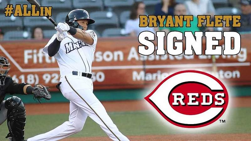 Shortstop Bryant Flete has been signed by the Cincinnati Reds, leaving a huge hole to fill in the Miners' offense.