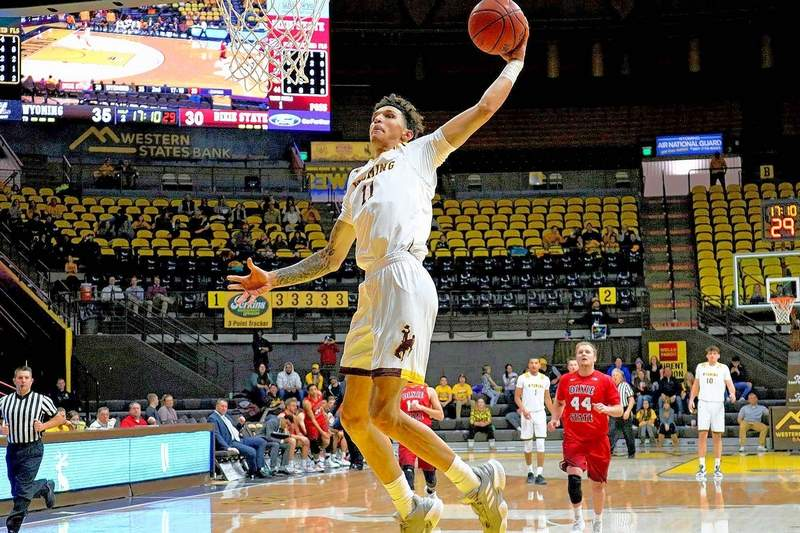 Wyoming transfer Trace Young averaged 6.8 points and 3.4 rebounds a game. Young came to Wyoming out of Mt. Zion Prep and was a three-star recruit by ESPN, 247Sports and Rivals.