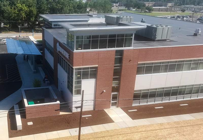 The newly constructed SIU/SIH facility held its official opening Thursday afternoon.