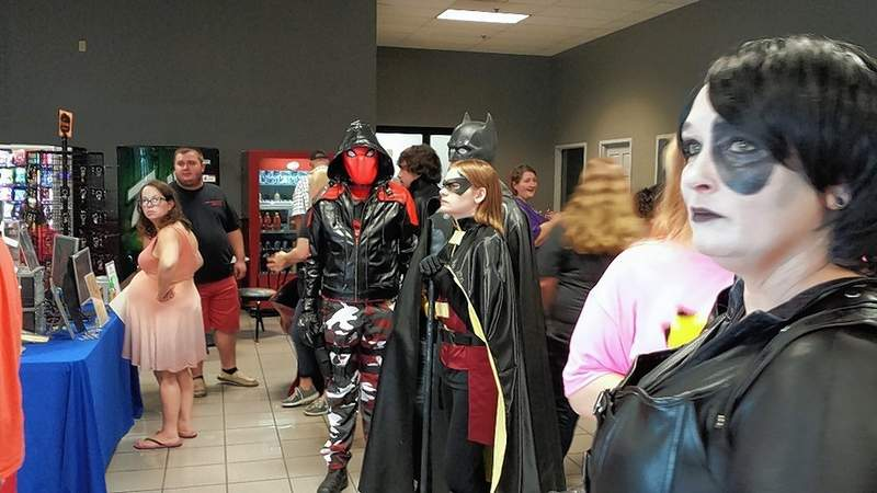 Cosplayers gather prior to the cosplay contest/parade at the 2018 Burg Comics Con in Harrisburg. The event returns Saturday to the Bonan Business Center.