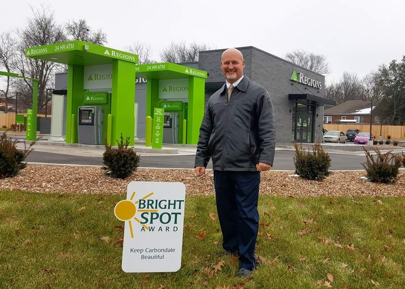 Doug Cash is branch manager at Regions Bank in Carbondale.