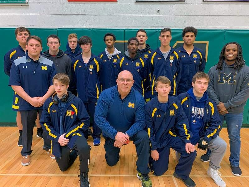The Marion Wildcat wrestlers took 2nd at the IHSA regional and will head to Mascoutah tomorrow for a sectional showdown.
