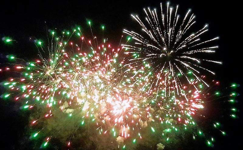 The Marion Knights of Columbus will hold its annual July 4 celebration, complete with a fireworks show.