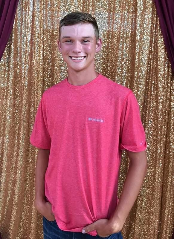Brayden Kiefer, junior attendant