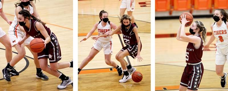 The Benton trio of Addisyn Miller, Ensley Tedeschi and Braelyn Miller were all named to the SICA All-South Team