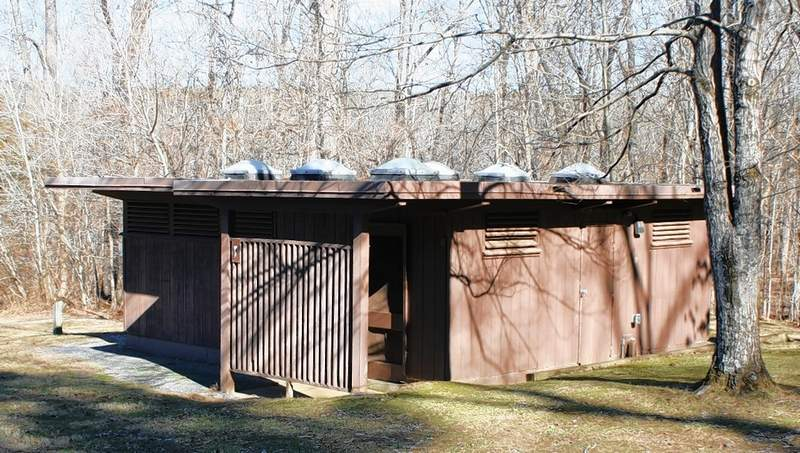 The toilets at Duck Bay are on schedule to be rehabbed.